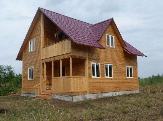 что рассматриваемый материал является экологичным, а потому это качество присуще и домам